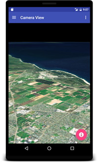 Camera View-WorldWind Android/NASA WorldWind